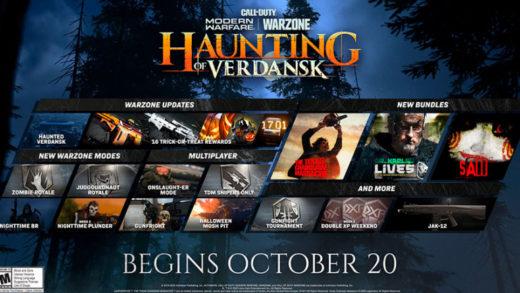 Halloween llega a Call Of Duty Warzone: anuncian Zombie Royale y el evento temático The Haunting of Verdansk