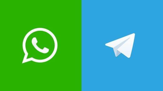 ¿Es mejor enviar imágenes en WhatsApp o en Telegram?