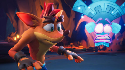 Crash Bandicoot homenajea a Naughty Dog jugando una partida de Uncharted 4 junto a Coco