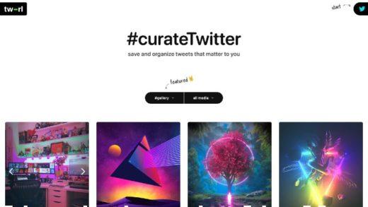Twitter estrena TW-RL, una herramienta de curación de contenidos