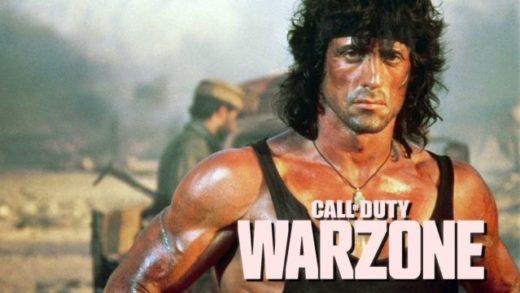 ¡Se viene Rambo a Call Of Duty: Warzone!