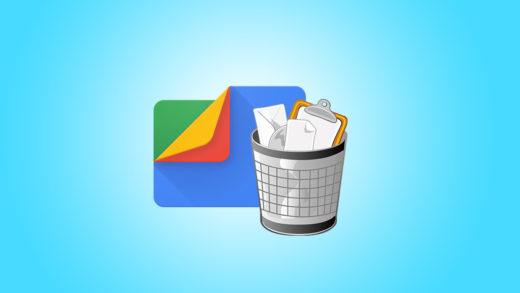 Android 12 viene con papelera de reciclaje para Google Files