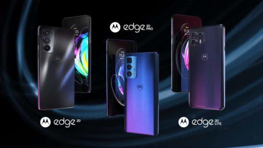 Así son los Motorola Edge 20, Edge 20 Pro y Edge 20 Lite
