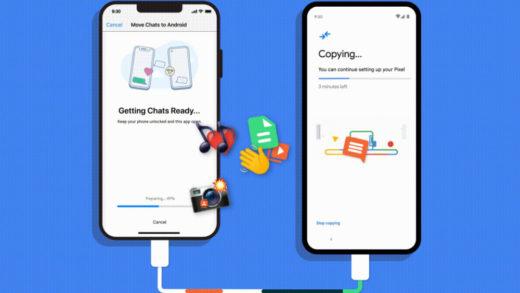 Los Google Pixel y móviles con Android 12 tendrán transferencia de chats de WhatsApp de iPhone a Android